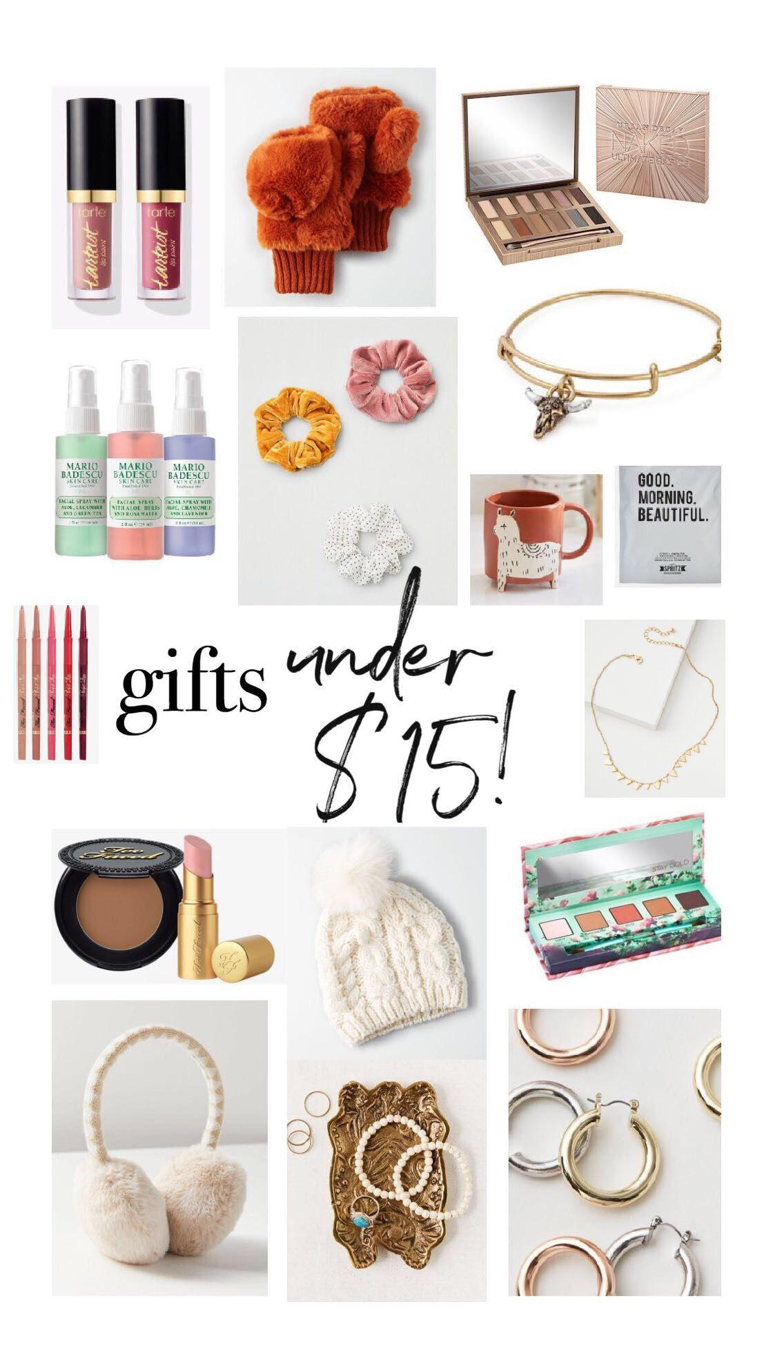 GIFTS UNDER $15!
