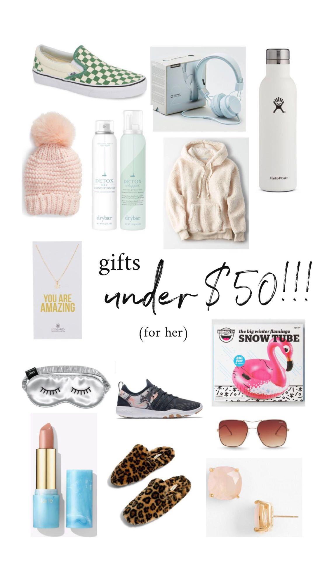 GIFTS FOR HER – UNDER $50