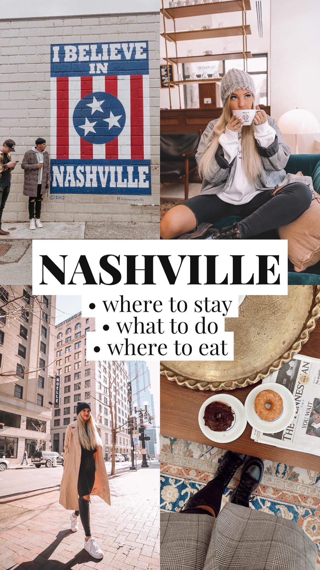 NASHVILLE: where to stay, what to do, where to eat!