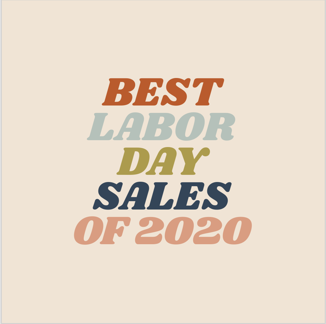 Best Labor Day Sales of 2020