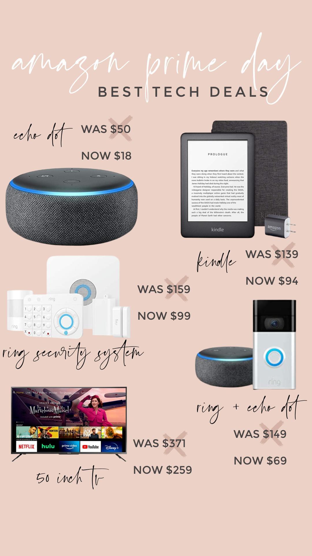 amazon prime day: best tech deals