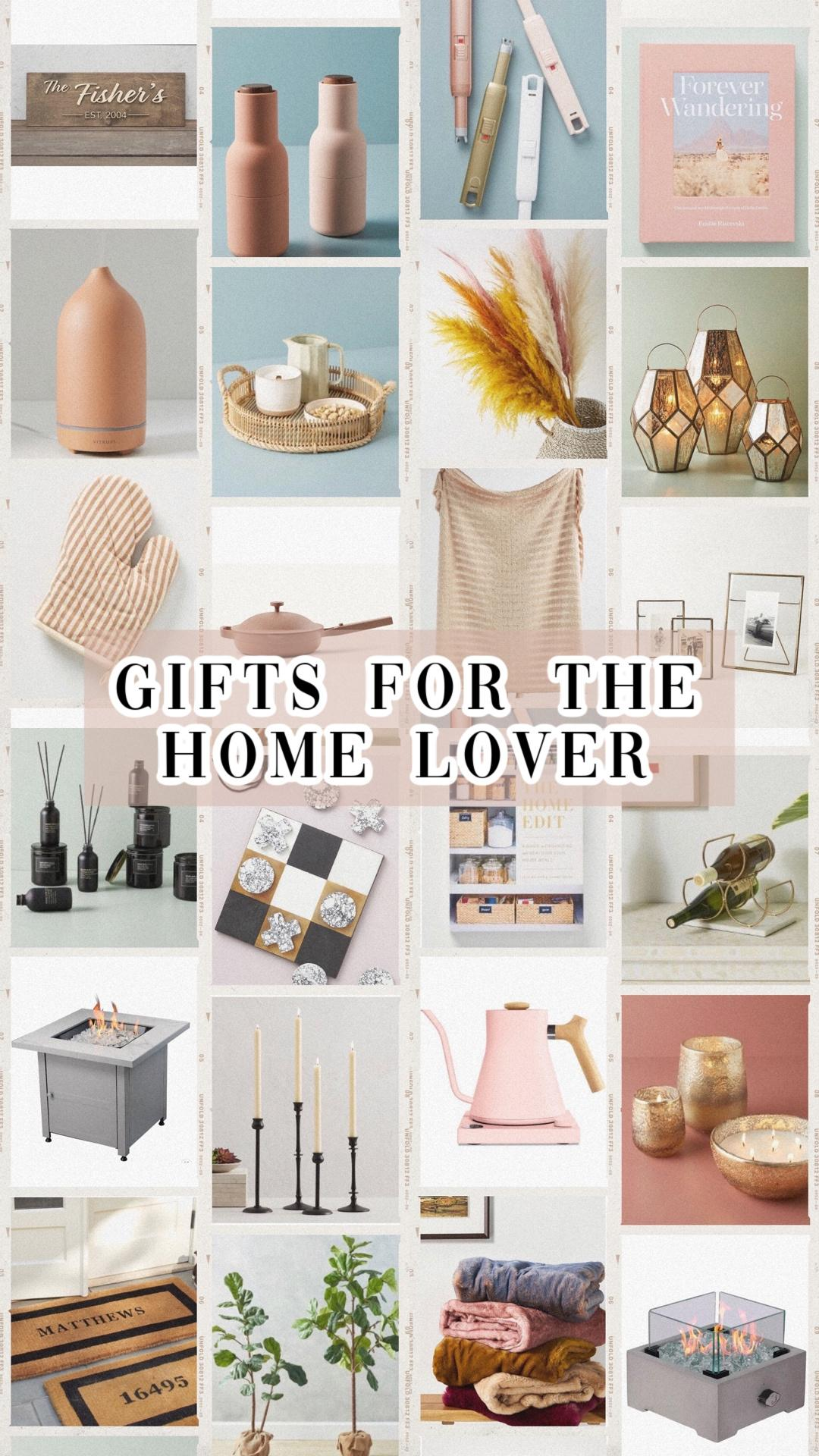 GIFTS FOR THE HOME LOVER / NEWLY WED
