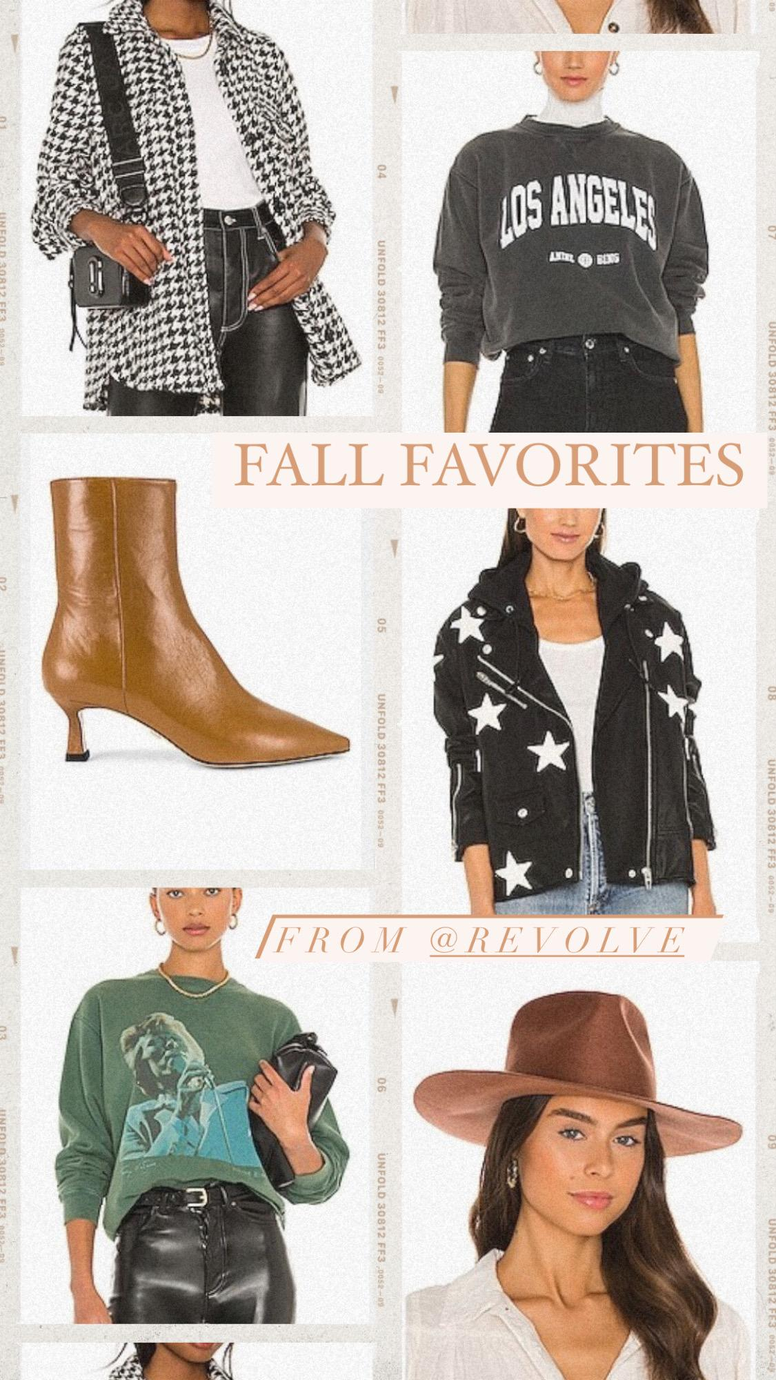 FALL FAVORITES FROM REVOLVE